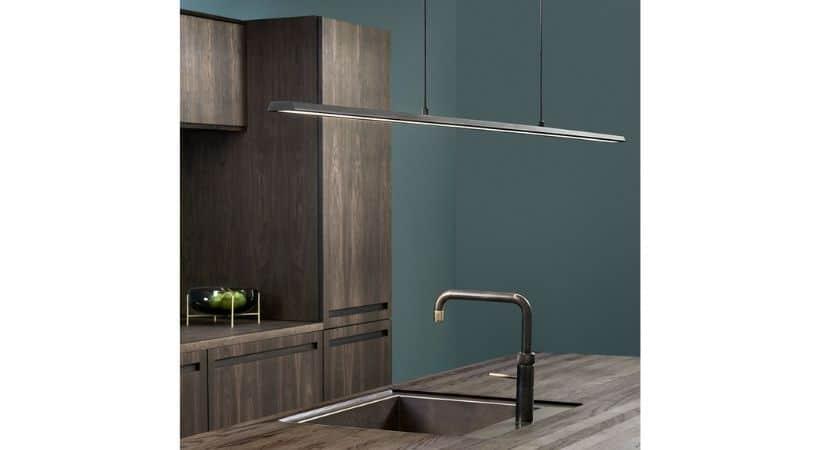 Køkkenlampe over vask