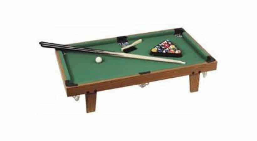 Mini poolbord