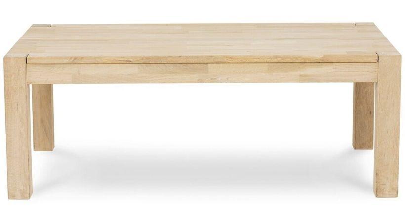 Sæbebehandlet sofabord i egetræ