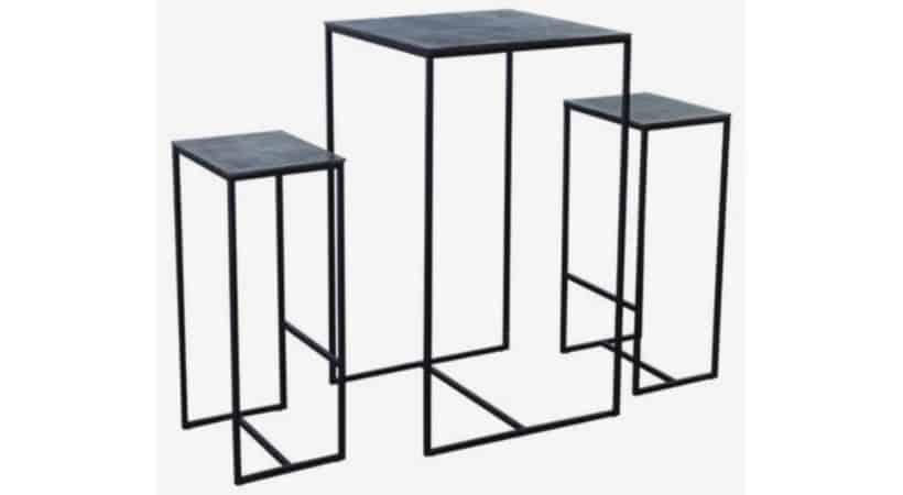 Barbord sæt - Bord og stole