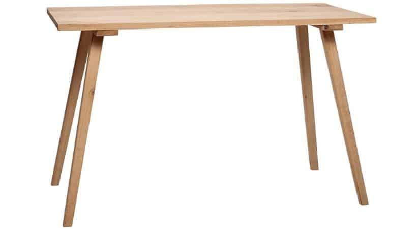 Enkelt skrivebord - Hübsch