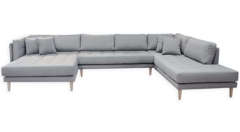 Dobbelt chaiselong sofa - 2 chaiselonger