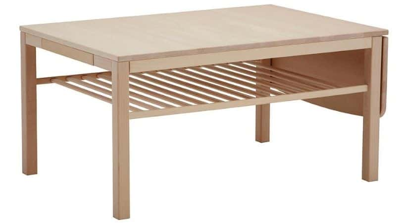 Haslev sofabord med klap - Bøg