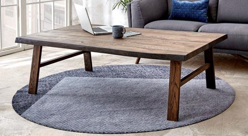 Planke-sofabord - romantisk retro-design