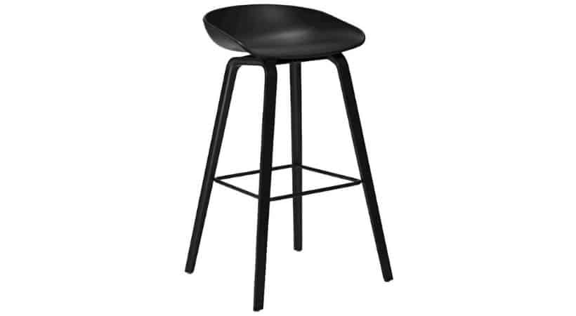 Sort HAY barstol - About a stool