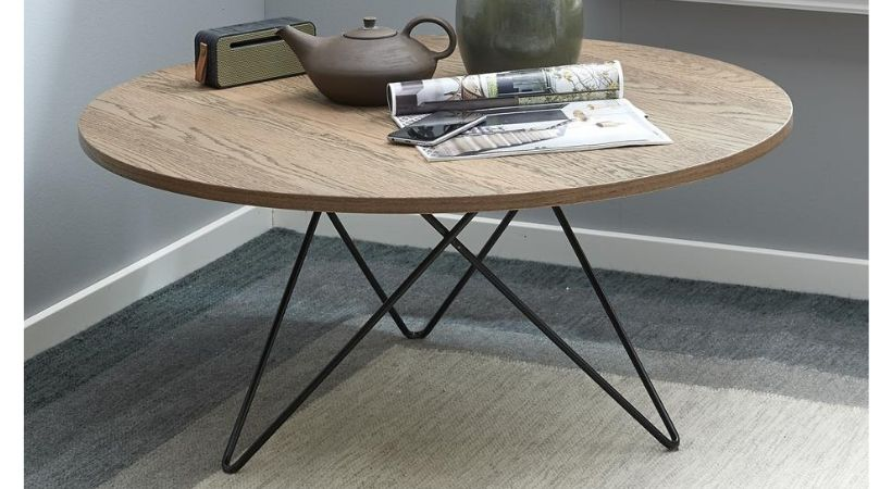 Stort rundt sofabord i klassisk design - Fasano