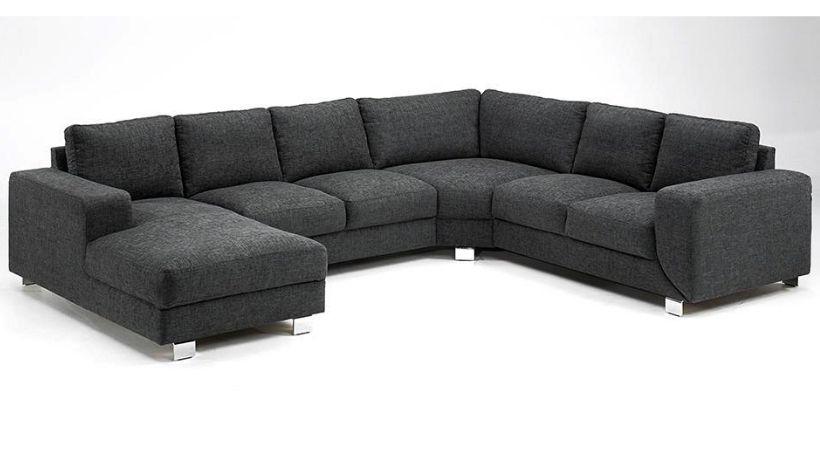 Ucreate sofa med chaiselong